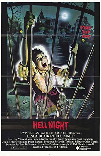 Hell Movie Poster - Hell Night 11 x 17 Movie Poster - Style A