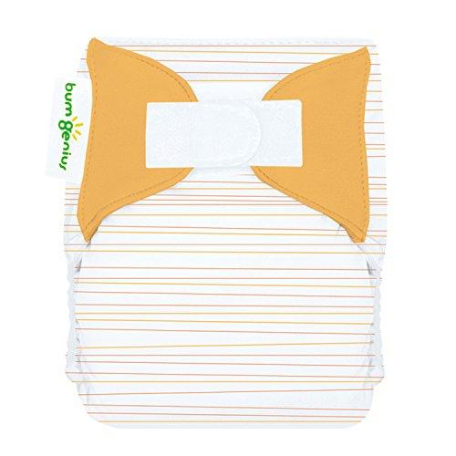bumGenius Newborn Cloth Diaper (Neutral Stripe)