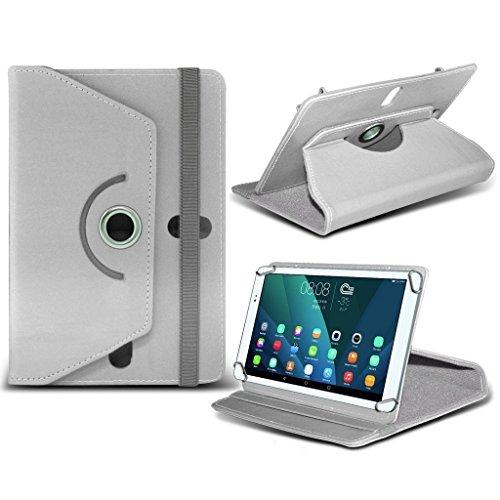 Aventus (Green ) 10 Tablet 360 Grad drehende lederne Schwenker-Standplatz-Fall-Abdeckung mit Schreibfeder eingeschlossen für Tesco Connect 10 White