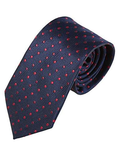 COOFANDY Men's Business Necktie Classic Silk Tie Woven Jacquard Neck Ties by COOFANDY