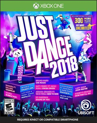 Just Dance 2018 - Xbox One (Connect Zumba Xbox)