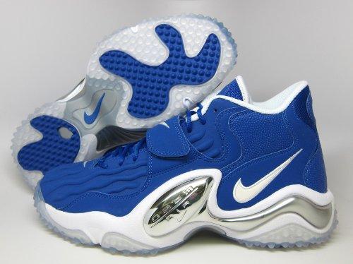 NIKE Air Zoom Turf Jet 97 Mens Cross Training Shoes 554989-401 Hyper Blue 9 M - Nike Zoom Training Turf