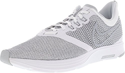 White NIKE Blanc 100 Homme Chaussures Wolf Fitness Grey Strike de Zoom qwUq46T0