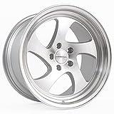 (US) Varrstoen MK2 19x10.5 +22 5x114.3 73.1 Gloss Silver w/ Machined Face + Lip