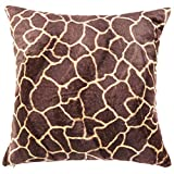 LivebyCare Plush Multi-zise Animal Grain Print Throw Pillow Cover Sham Case Cushion Covers Pattern Zipper Pillowslip Pillowcase For Decor Decorative Bed Family Room