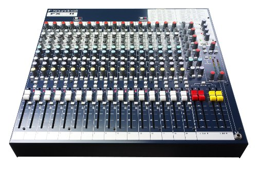Soundcraft FX16ii Compact 16-Channel Live/Recording Audio Mixer with Effects - 32 Live Sound Mixer