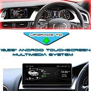 10 25 Inch Android 10 Touchscreen 3d Gps Navigation Usb Rhd For Audi A4 8k B8 A5 8t Mmi 3g