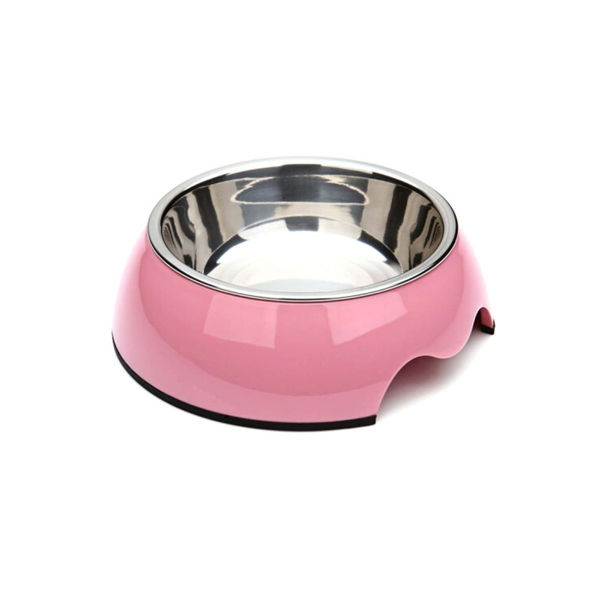 Guyuexuan Cat Bowl, Cat Food Bowl, Dog Food Bowl, Pet Supplies, Ceramic Bowl, Cat Feeder, Dog Food Bowl, Best Gift (color   Pink, Size   Medium)