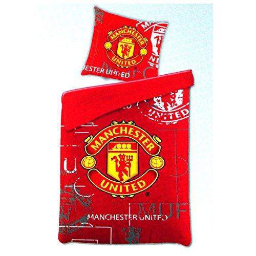 Manchester United Bettwäsche 135 x 200 cm Fußball