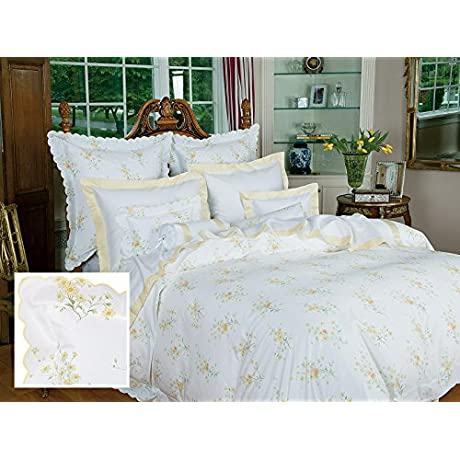 Lakeville Sheet Sets Twin 1 Flat 1 Fitted 1 Std Sham Yellow