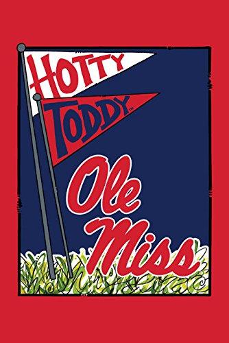 (Collegiate Garden Flag (Ole Miss Mascot))