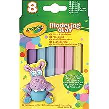 Crayola Modeling Clay, 8-Count Pastel