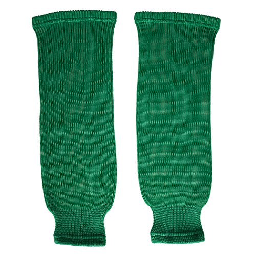 TronX SK80 Knit Ice Hockey Socks (Kelly Green 32 Inch)