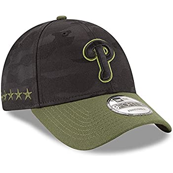 New Era Authentic YOUTH Philadelphia Phillies Memorial Day 9Forty Adjustable  Hat - Black Camo 6407778c6b7f
