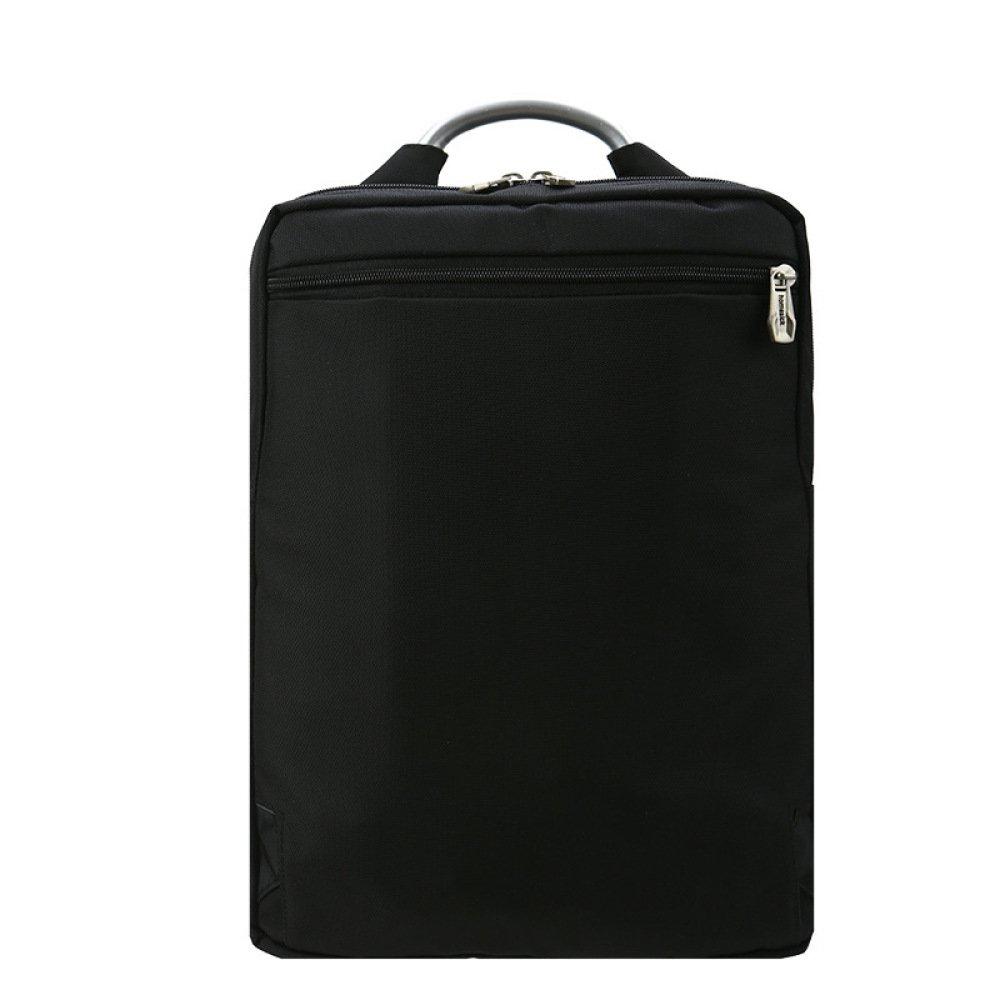 Mochilas Para PortáTiles Business Bag 14 Computer Rucksack Casual Daypack Con Mango De Metal Para Hombres,Black-32 * 10 * 45cm: Amazon.es: Ropa y accesorios