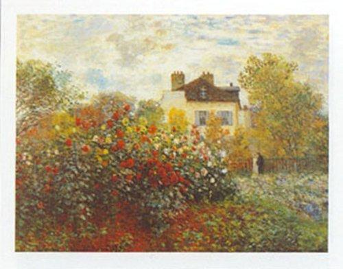 Buyartforless The Artist's Garden by Claude Monet 16x20 Art Print Poster