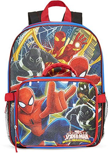 Marvel Ultimate Spider-Man Web-Warriors Backpack and Lunch Bag