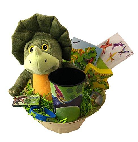 Jurassic Park World Dinosaur Themed Kids Premade Prefilled Gift Basket