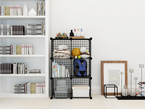 Kousi Wire Storage Cubes Wire Grids Cube Closet Organizer