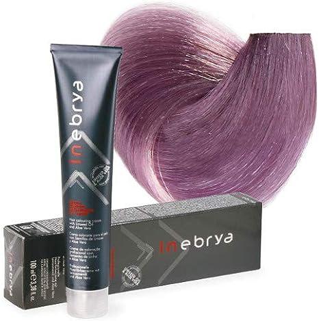 Inebrya Color 8/02 rubio claro violeta pastel: Amazon.es: Belleza
