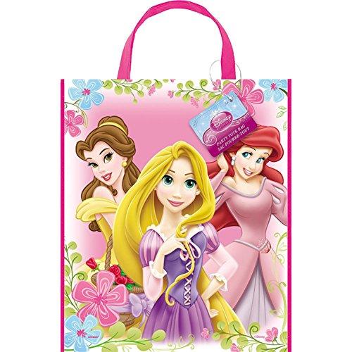 """Disney Princess Party Tote Bag 10"""" X 13"""" Belle Ariel Repunzel"""