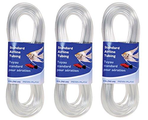 PENN PLAX Standard Airline Tubing Air Pump Accessories,  75 Feet (25 ft x - Accessory Airline
