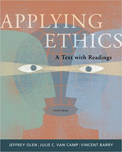 Amazon applying ethics a text with readings 9780495094999 amazon applying ethics a text with readings 9780495094999 jeffrey olen julie c van camp vincent e barry books fandeluxe Choice Image