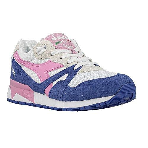 Blu Unisex Adulto Rosa Diadora Sneaker a N9000 Fucsia Collo Principessa III Blu Basso YfO08fCn