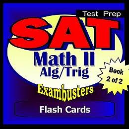 Amazon com: SAT Math Level II Algebra 2-Trig Review Test