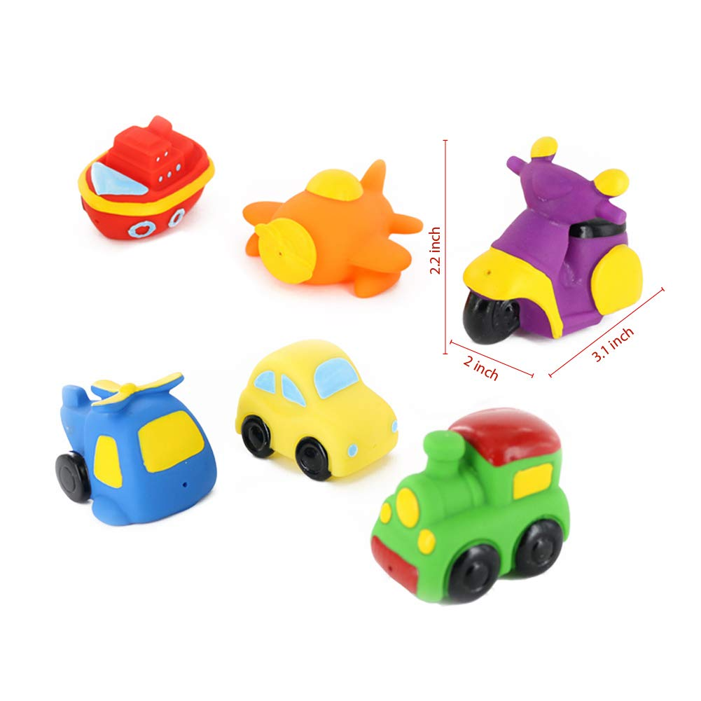 Coltoys Transportation Bath Toys Express Delivery Fun Floating Water Squirters Squeeze//Squish