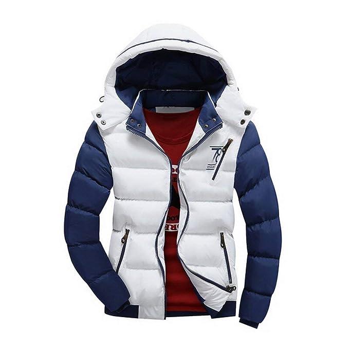 HX fashion Giacca Invernale da Uomo Giacca Invernale da