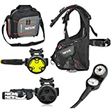 SEAC Smart BCD Scuba Regulator Dive Gear Package, Small