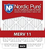 Nordic Pure 20x20x4M11-1 Air Condition Furnace Filter, Box of 1