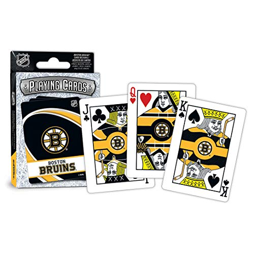 MasterPieces NHL Boston Bruins Playing Cards (Nhl Boston Bruins Card)