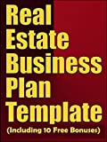 img - for Real Estate Business Plan Template (Including 10 Free Bonuses) book / textbook / text book
