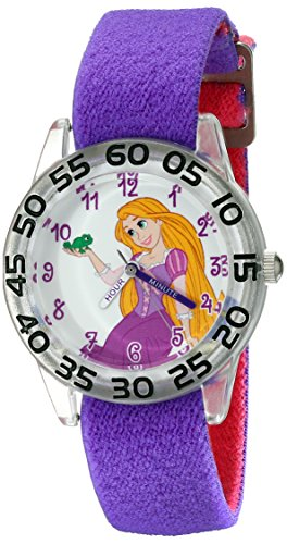 Disney Kids' W001952 Rapunzel Analog Display Analog Quartz Purple Watch