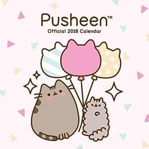 Pusheen Official 2018 Calendar - Square Wall Format