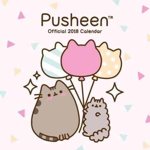 Pusheen Official 2018 Calendar - Square Wall Format
