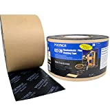 Polyken Shadowlastic Black Flashing Tape - 4 in Width x 100 ft Length - 20 mil Thick - 627-20 4 X 100FT BLACK [PRICE is per ROLL]