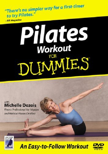 Pilates Workout For Dummies 2001 DVD by Andrea Ambandos ...