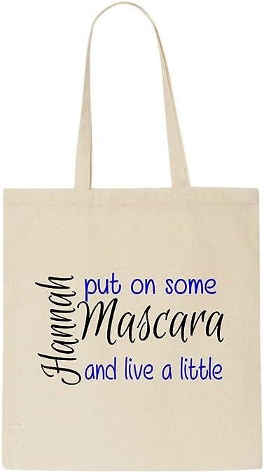 how to put a name on a tote bag