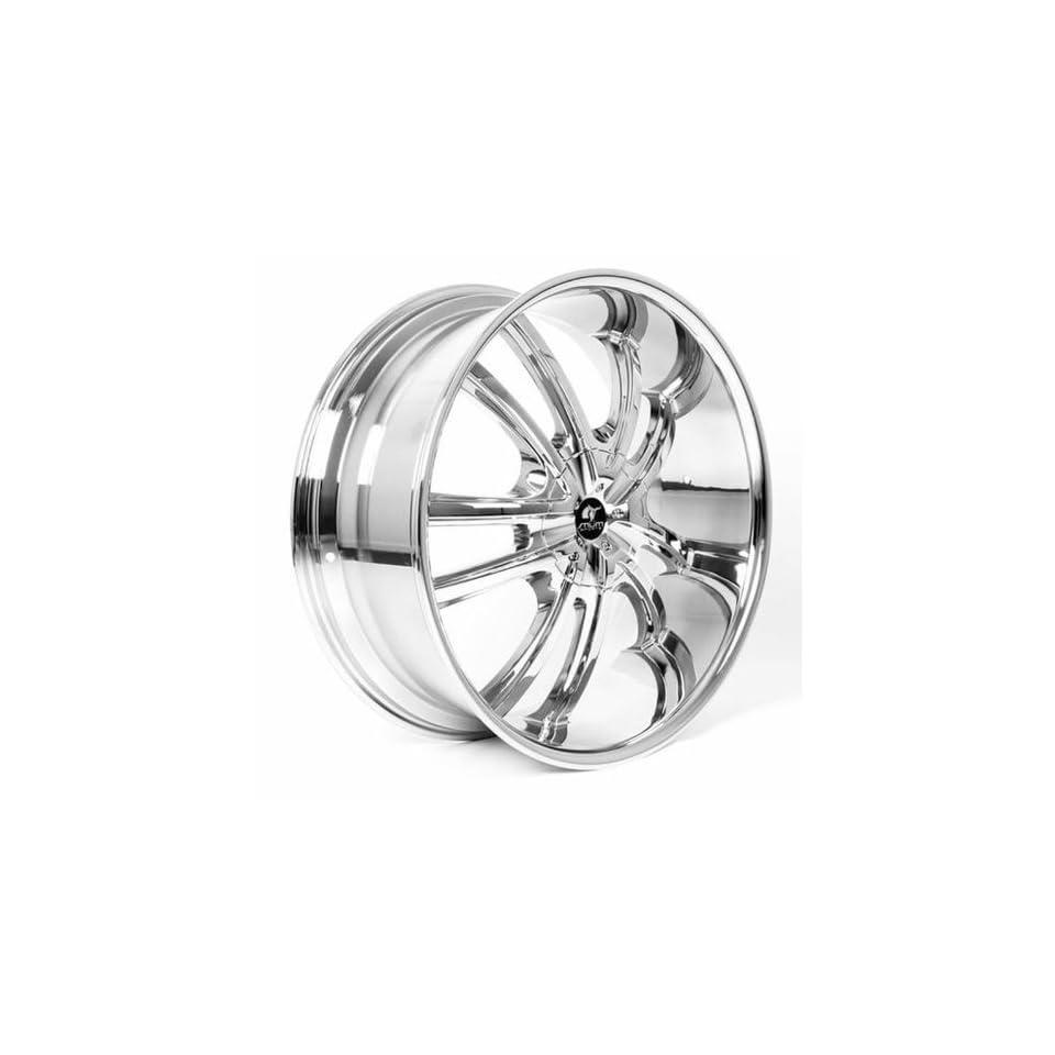 MUM Sports JS 55   24 inch Chrome Wheels Rims (24x10 6x135/139.7 ET+30)   SET OF 4