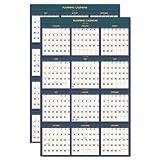 House Of Doolittle 391 Four Seasons Reversible/Erasable Business/Academic Calendar, 24 x 37, 2011-2012