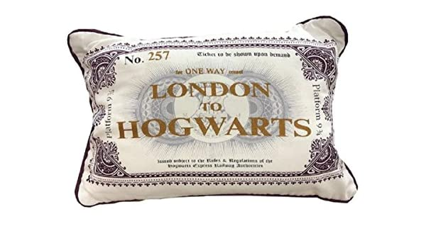 Primark Harry Potter LNDON TO Hogwarts - Cojín: Amazon.es: Hogar