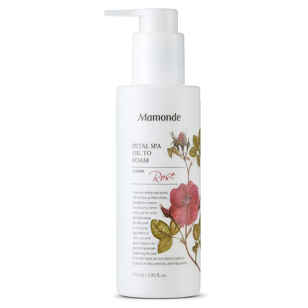 Mamonde Rose Petal Spa Oil to Foam Cleanser Face Wash