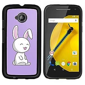 For Motorola Moto E2 E2nd Gen Case , Joven Hierba- Diseño Patrón Teléfono Caso Cubierta Case Bumper Duro Protección Case Cover Funda