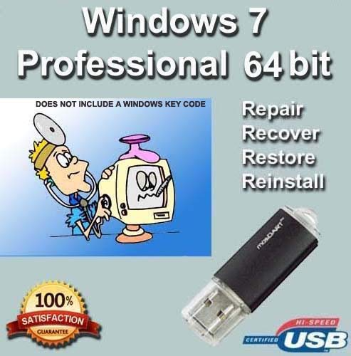 how to recovery windows 7 professional