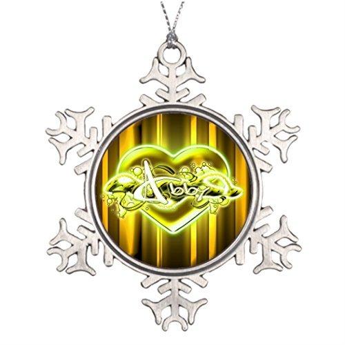 EvelynDavid Ideas for Decorating Christmas Trees Abby Western Snowflake Ornaments Tree Decor