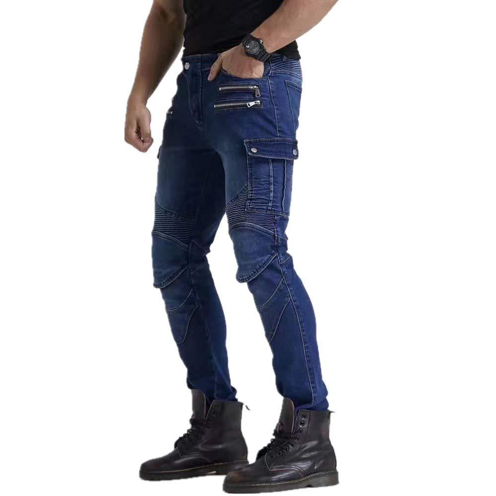 I Più Recenti Pantaloni Da Moto Da Uomo In Jeans Pantaloni