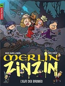 """Afficher """"Merlin Zinzin. T8. L'Elfe des brumes"""""""